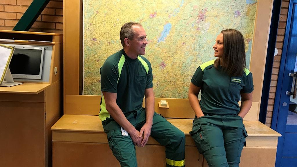 Erik Källermark och Anna-Karin Lidén