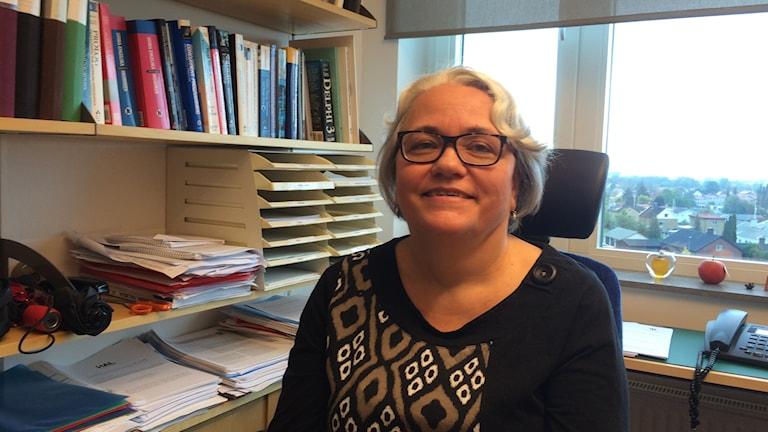 Birgitta Lindström är docent på Högskolan i Skövde och forskar bl a om testning av dataprogram