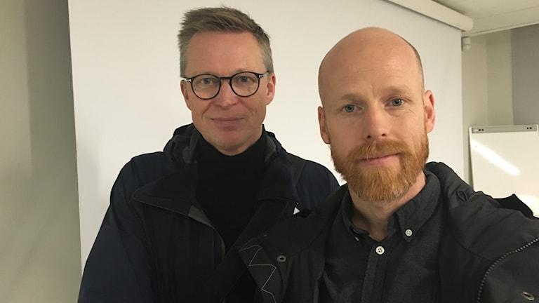 Tobias Matteusson och Tomas Ivner Oldin