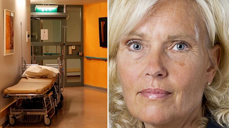 Ann Söderström VGR och Korridor Foto Pressbild och Sören Andersson TT