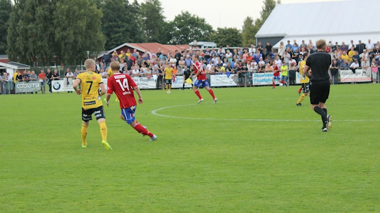 Cupmatch på Lunnevi.