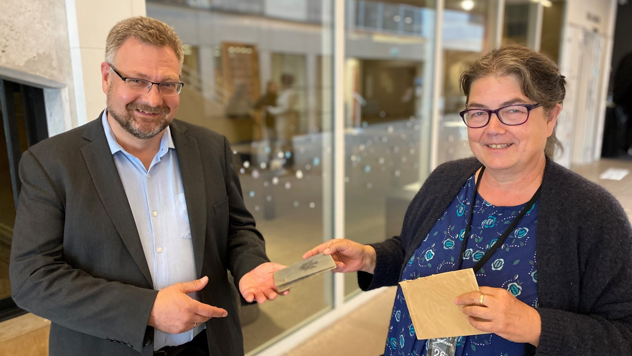Susann hittade John Bauers sista pass i mosters byrålåda