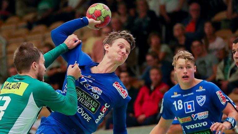 IFK Skövdes Matias Helt Jepsen.