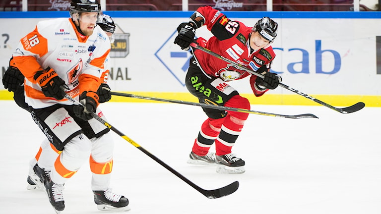Ishockeyspelaren Emil Larsson