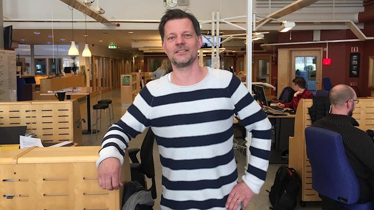Calle Sundblad, kanalchef P4 Skaraborg.