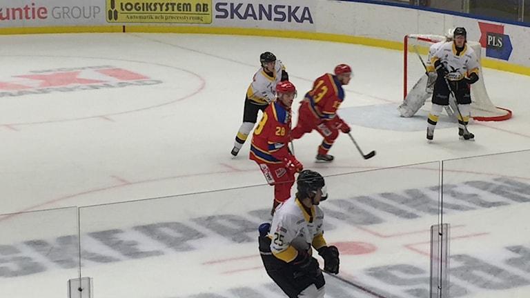 Skövde IK slutade nia i serien och får med sig tre bonuspoäng in i vårserien.