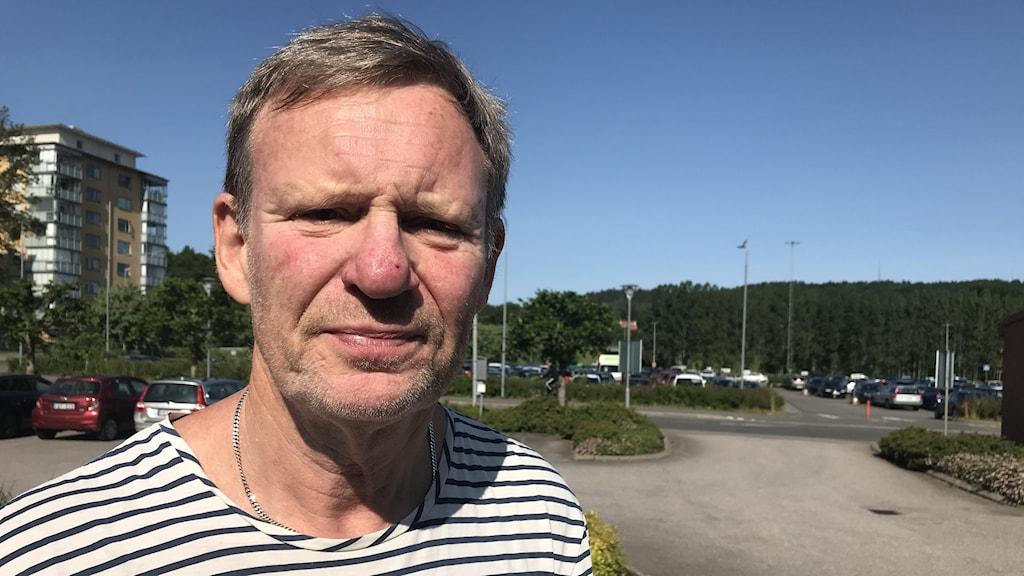 Biträdande smittskyddsläkare Peter Nolskog.