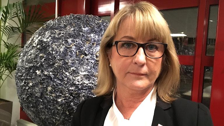 Kristina Lundgren, kommunchef i Tibro