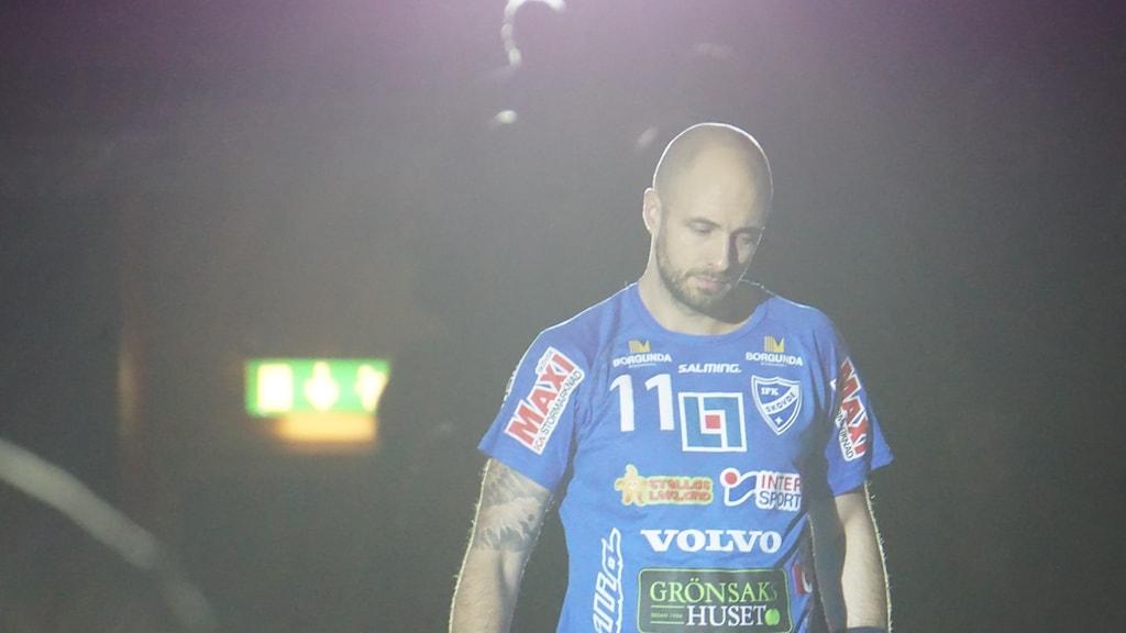 IFK Skövdes lagkapten Kristian Svensson.