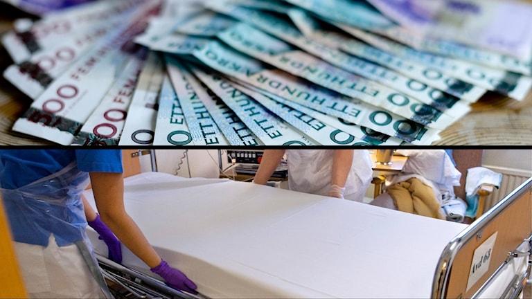 Pengar och sjukvård