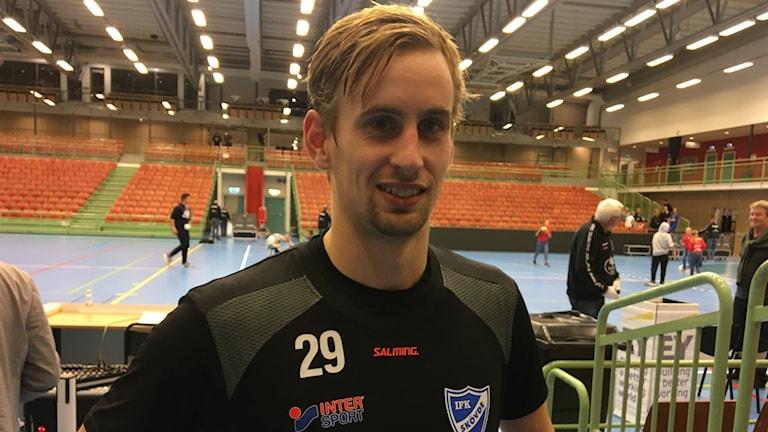IFK Skövdes nyförvärv Richard Hanisch var målbäst med åtta fullträffar.