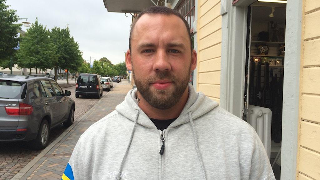 Daniel Sundvall berättar om sitt missbruk
