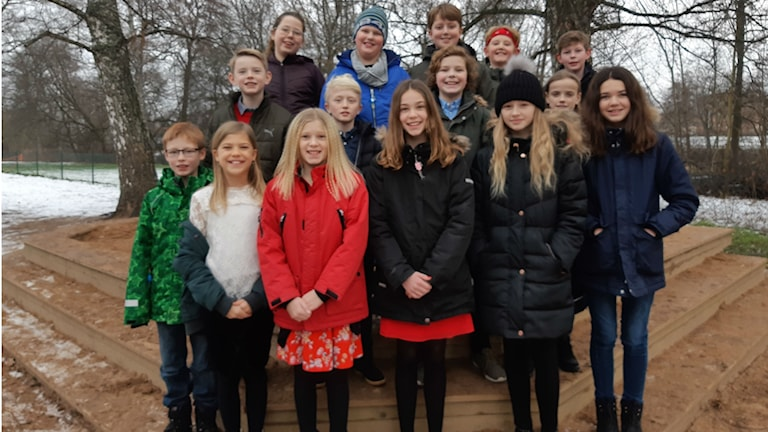 Broholmskolan klass 5 B