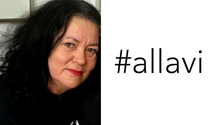 Maria Robsahm och #allavi