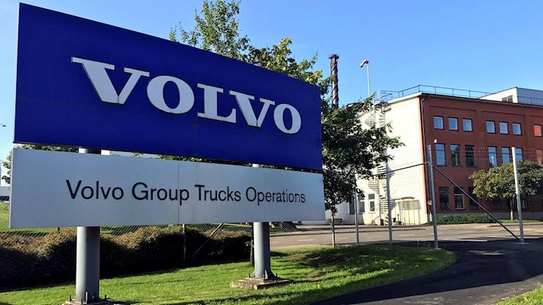 Volvo i Skövde.
