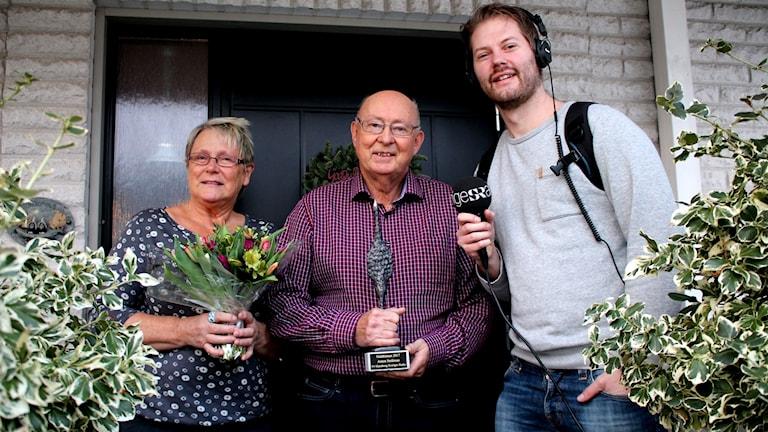 Mona-Lisa Strålman, Jan Strålman och Jens Prytz.