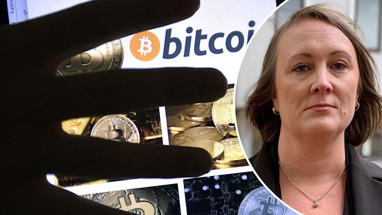 Bitcoin och kammaråklagare Sofia Karlsson.