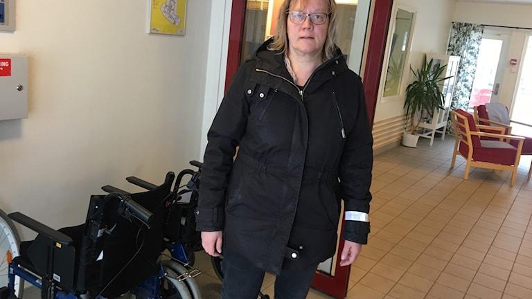Päivi Varis Pettersson, enhetschef på Gläntan i Götene