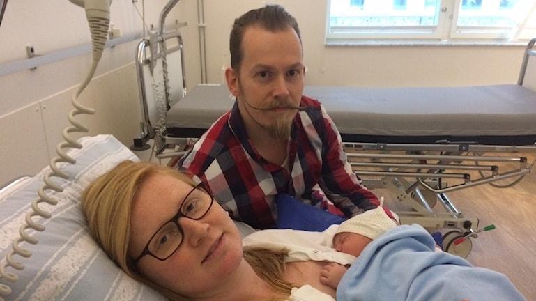 Erika och Daniel Jensen från Lidköping på bb