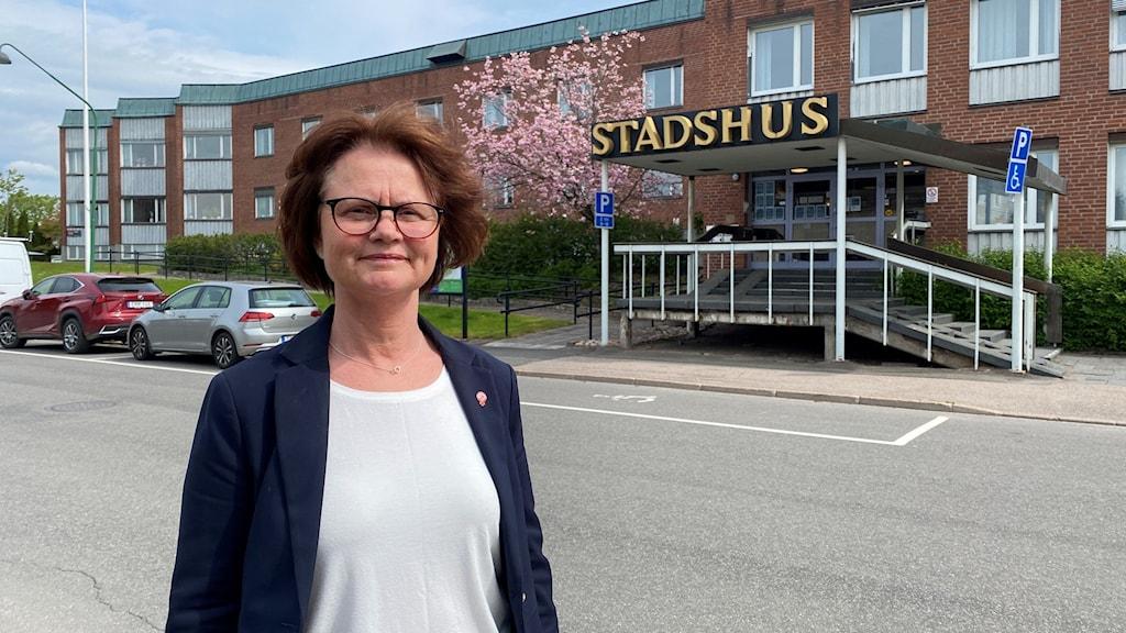 Anna-Karin Skatt (S), kommunalråd i Tidaholm.