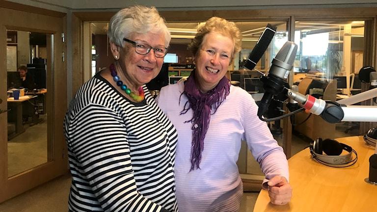 Birgitta Carlsson och Anna Nyberg.
