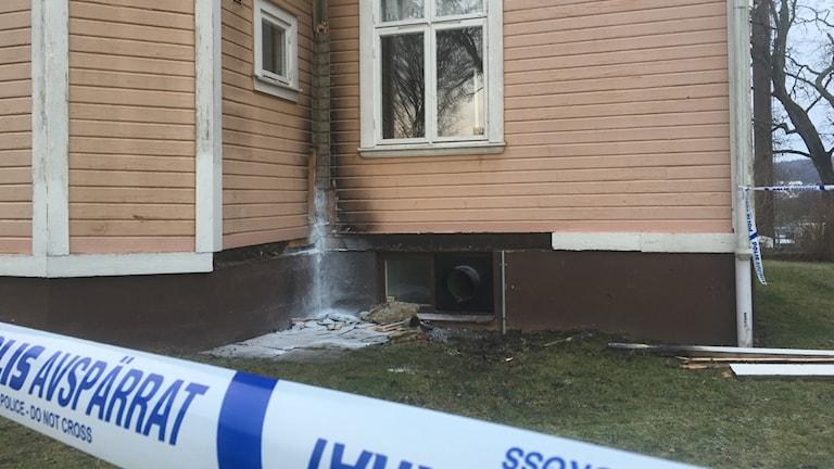anlagd brand förskola Falköping