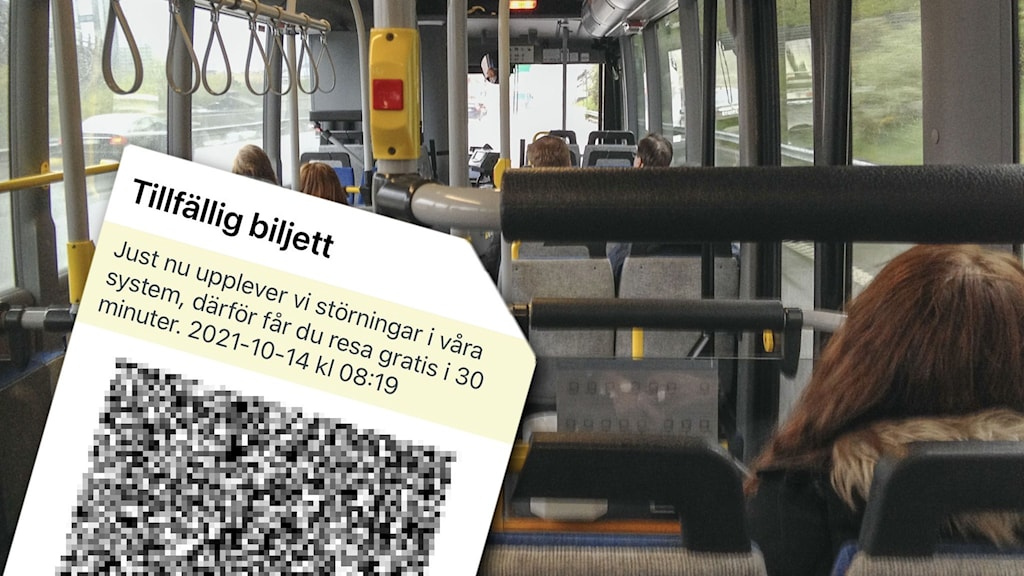 Interiör i en buss.