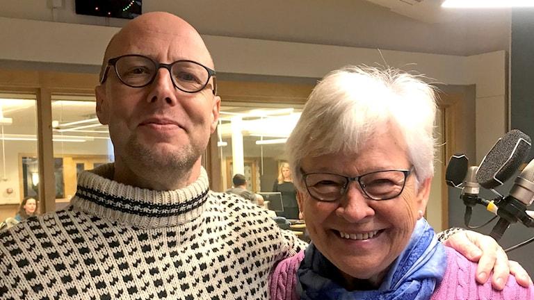 Alf Johansson och Birgitta Carlsson