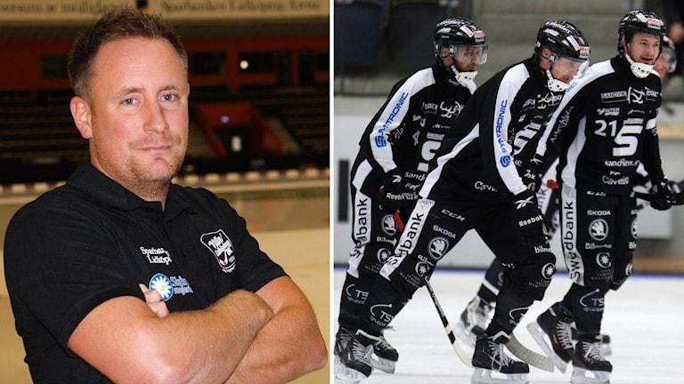 Kollage Johan Sixtensson och Sandviken