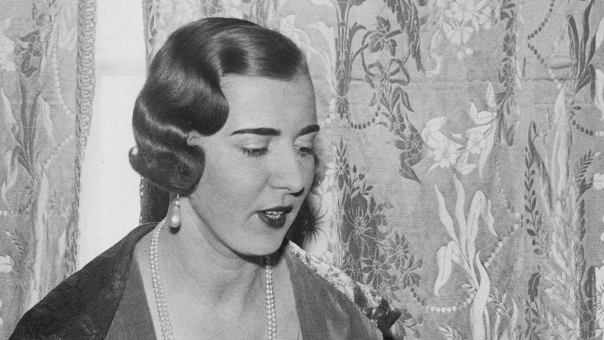 Prinsessan Ingrid av Sverige (1935). Foto: SVT Bild.