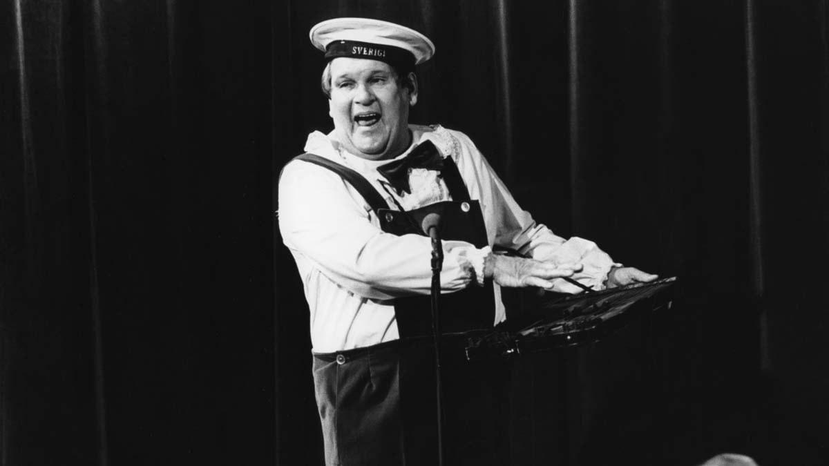 Sten-Åke Cederhök 1975. Foto: SVT Bild