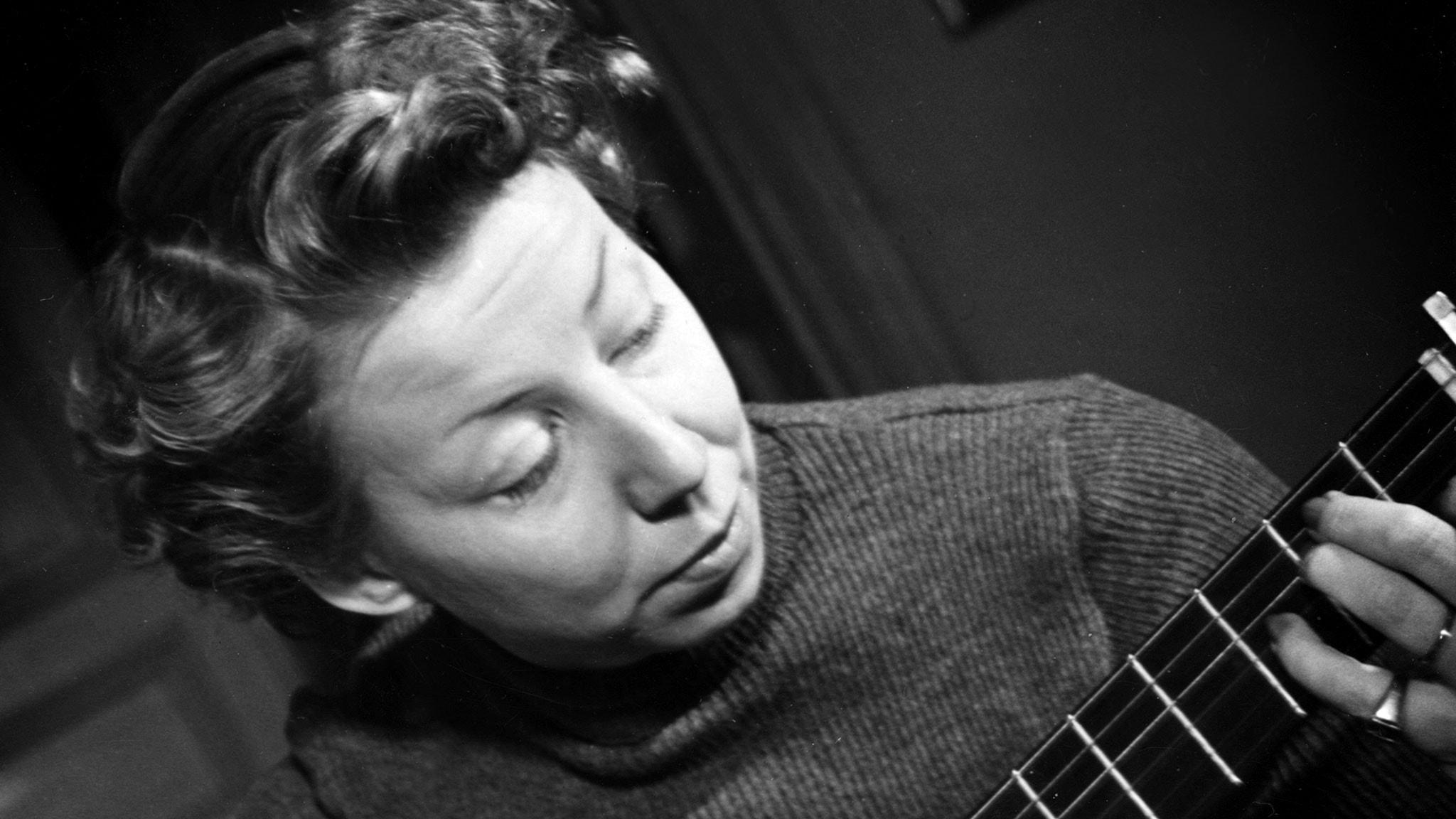 Margareta Kjellberg. Foto: SVT Bild