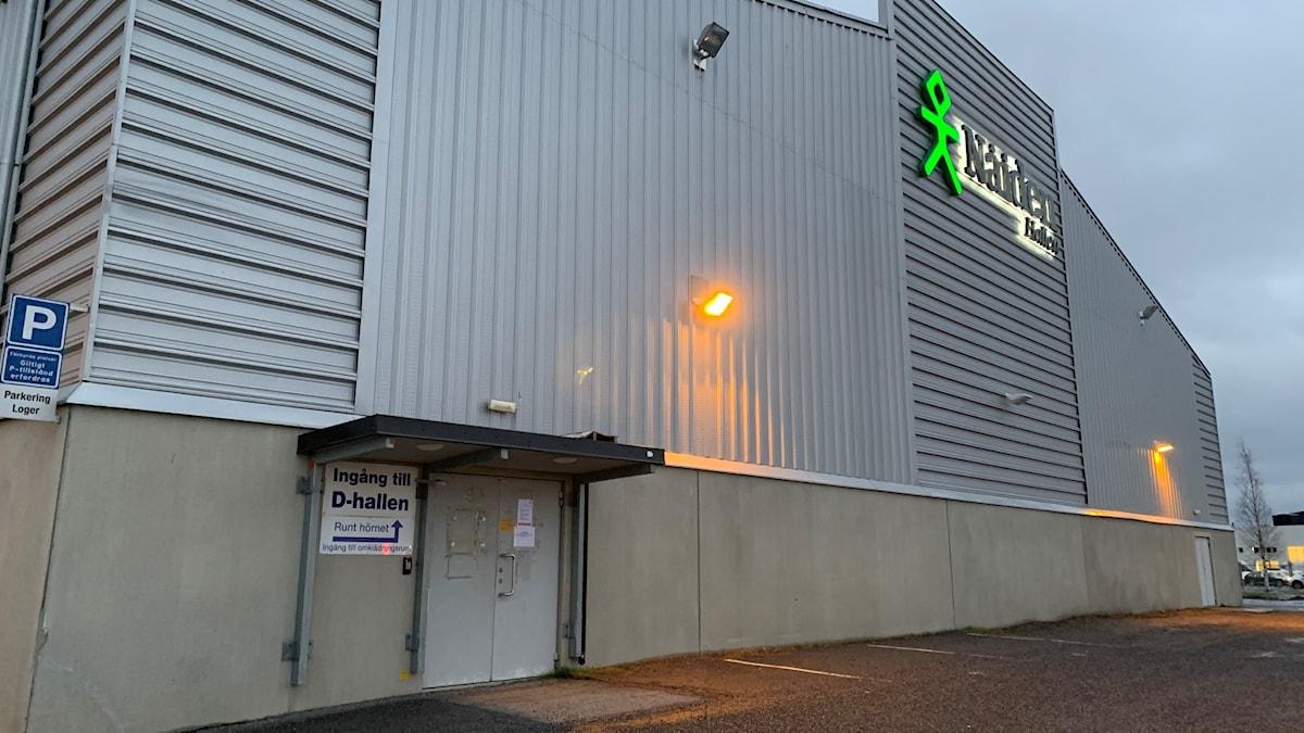 D-hallen vid Coop Arena eller Nåiden-hallen Luleå