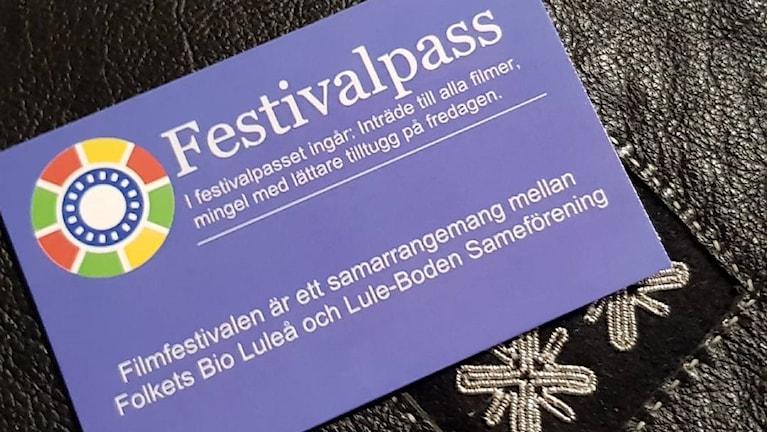 Luleås första samiska filmfestival går av stapeln under helgen 13-15 oktober.