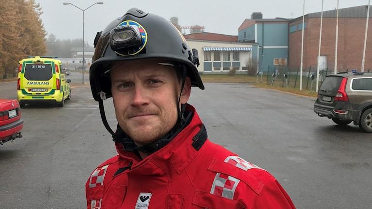 Magnus Öhman, räddningschef i Arvidsjaur.