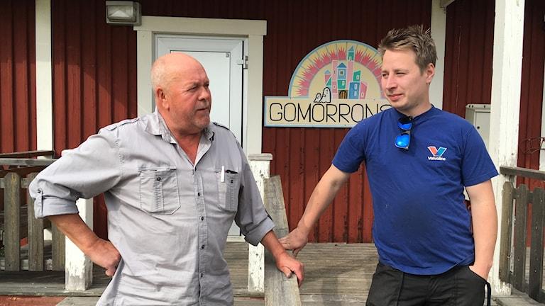 Ulf Sandström och Nils Vennberg