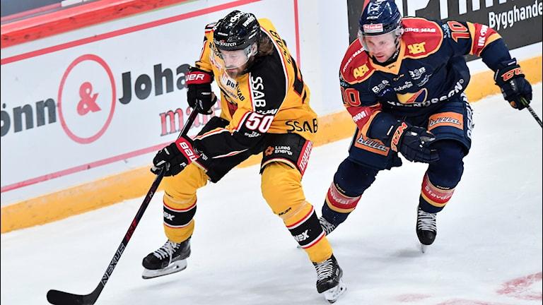 Luleå Hockeys Daniel Sondell mot Djurgården