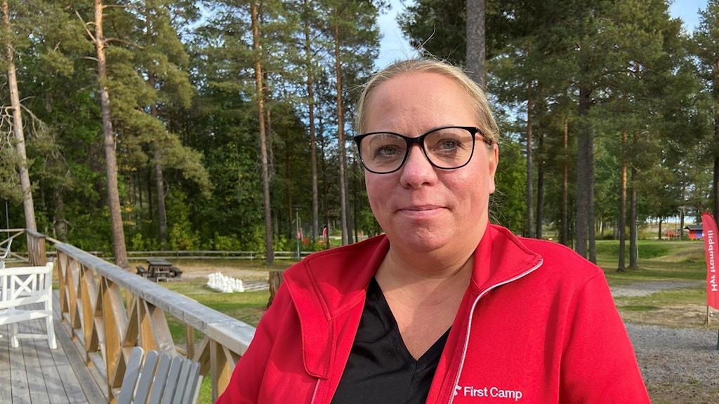 Malin Gotthold, destinationschef för First Camp Luleå.