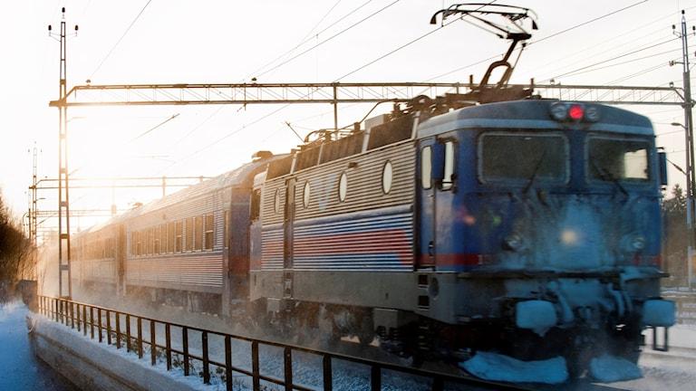 SJ tåg.