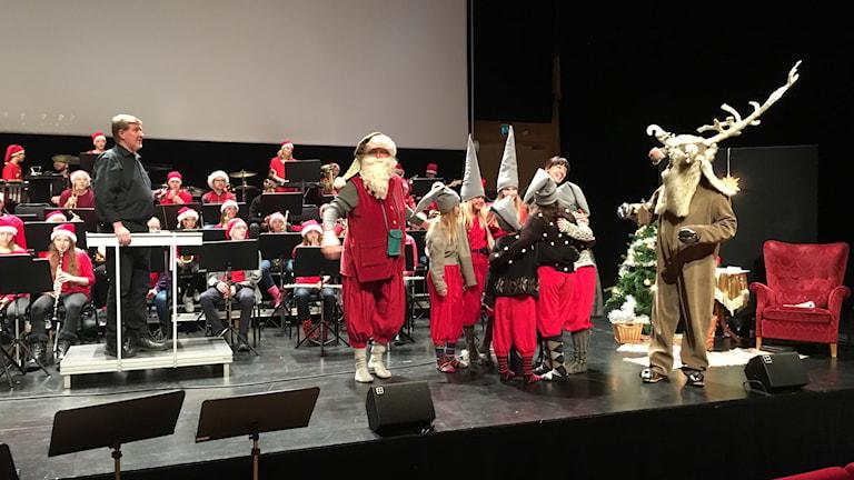 Föreställningen Julblåss
