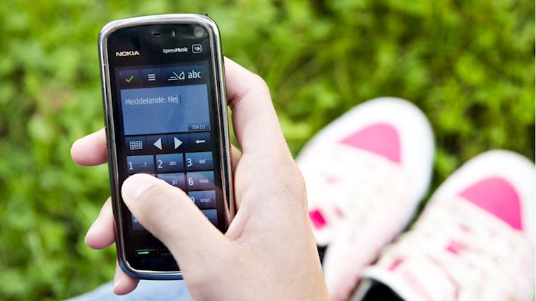 SMS-lån, mobiltelefon