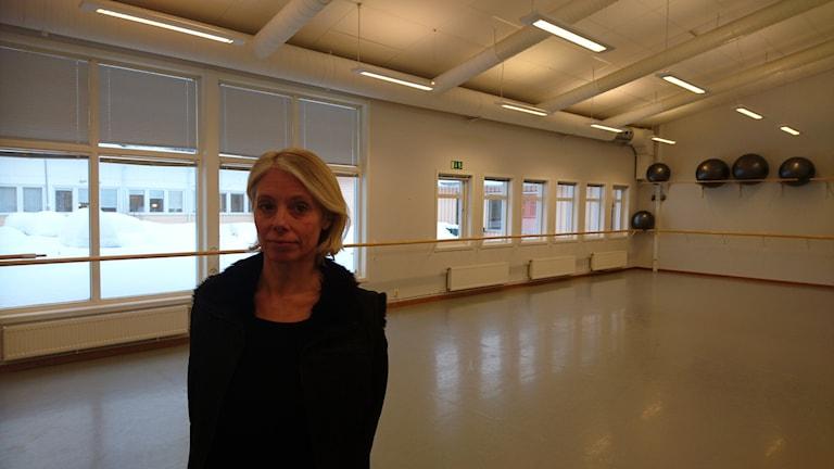 Emma Idén, konstnärlig ledare och lärare på Svenska balettskolan i Piteå.