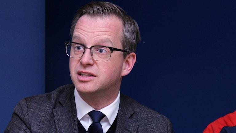 Näringsminister Mikael Damberg.