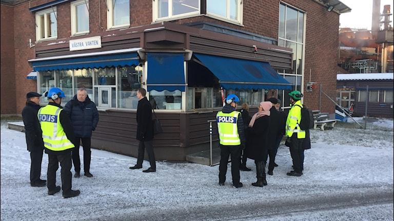 Tingsrättens ledamöter, domare, nämndemän, åklagare och advokat på SSAB:s område i Luleå.
