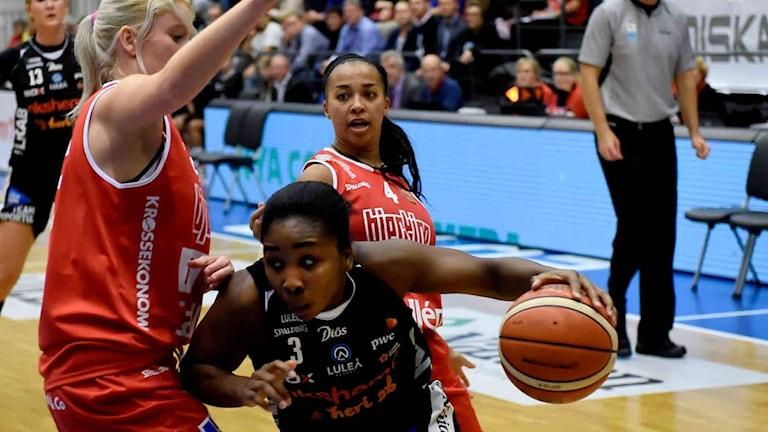 Jessica Thomas Luleå basket
