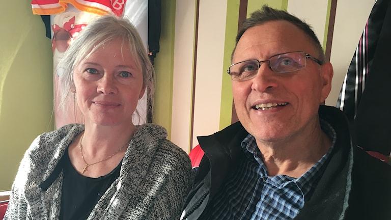 Ann-Chatrine och Stefan Andersson, Vidsel.