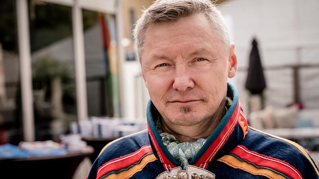 Per Olof Nutti, Sametingets styrelseordförande.