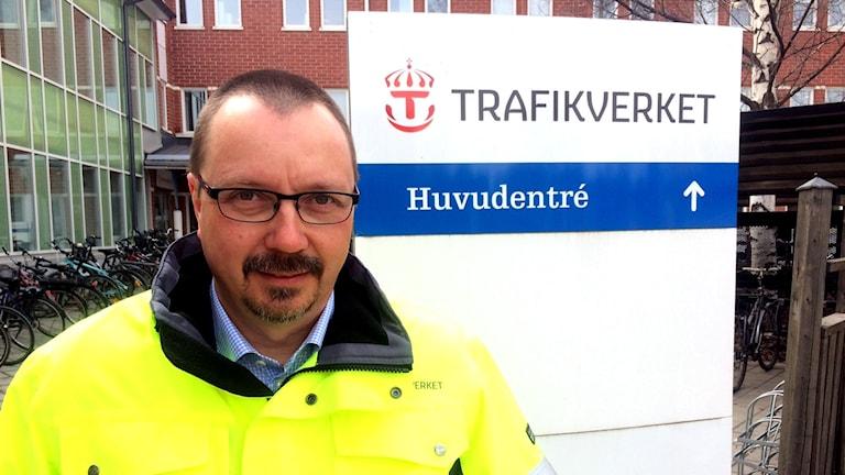 Jörgen Simu, distriktchef investeringar, på Trafikverket region Nord.