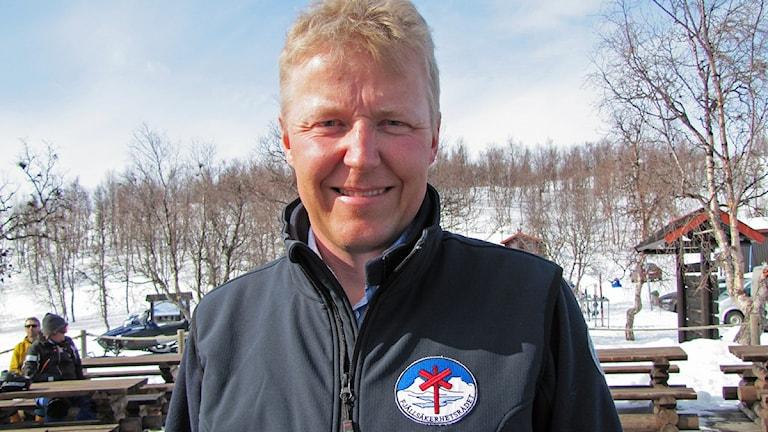 Per-Olov Wikberg, Naturvårdsverket, projektledare för lavinprognoerna.