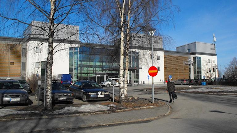 Landstingshuset i Luleå. Foto: Inger Marklund/Sveriges Radio.